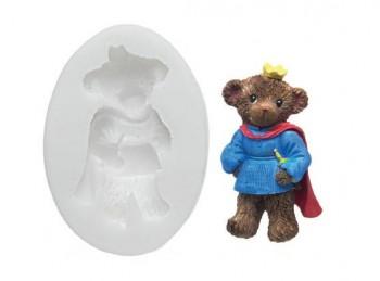 stampo impronta orso per marzapane o pasta di zucchero