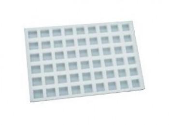 stampo placca silicone mini praline cioccolatini pavoni choco flex