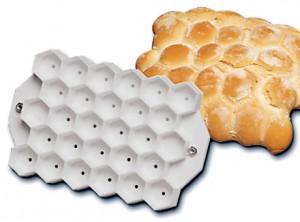 forma per pane tartaruga esagonale