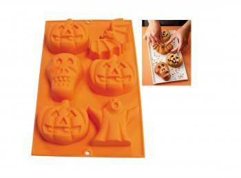 stampo placca silicone soggetti halloween lekue