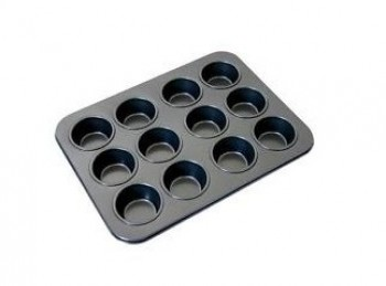 stampo forma mini tortine muffin antiaderente