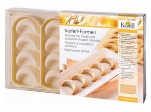 stampo silicone biscotti natale kipferl chifel birkmann