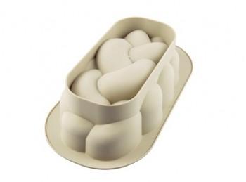 stampo silicone per treccia di pane dolce o salato silikomart