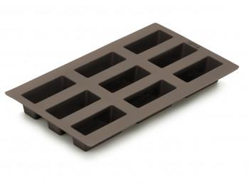 stampo forma 9 mini pagnotta pane silicone lekue