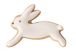 stampino forma taglia biscotto coniglio pasqua salta