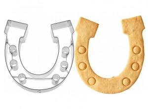 stampo taglia biscotti ferro di cavallo birkmann