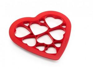 impronta taglia biscotti serie cuore lekue