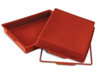 placca teglia forno rettangolare silicone silikomart