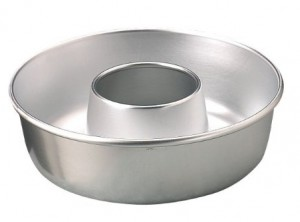 tortiera alluminio ciambella timballo con foro