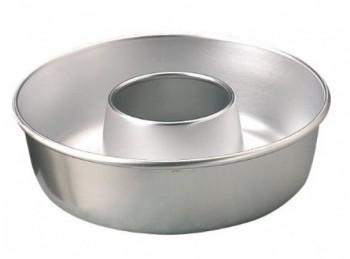 stampo torta ciambella alluminio con buco paderno