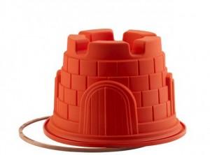 stampo castello silicone con anello silikomart