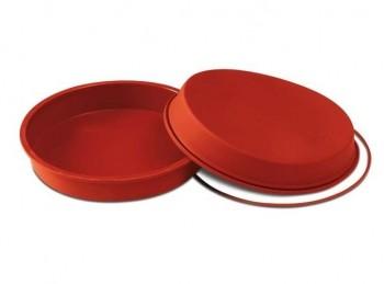 stampo torta rotonda silicone italiano silikomart
