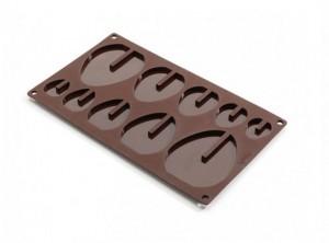 stampo forma uova pasqua cioccolato silicone lekue