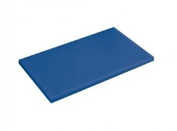 tagliere da banco con fermo polietilene haccp blu