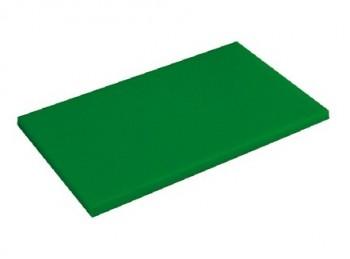 tagliere da banco con fermo polietilene haccp verde