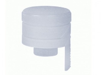 tappo plastica per imbottigliare vino spumante con fascetta a strappo