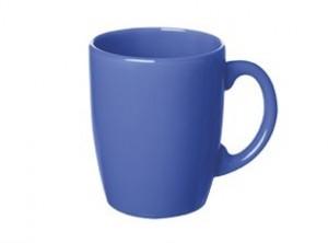 tazza mug caffè latte ceramica colore blu