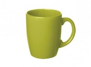 tazza mug caffè latte ceramica colore verde