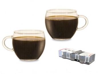 tazza caffè tè caldo in vetro temperato resistente al calore
