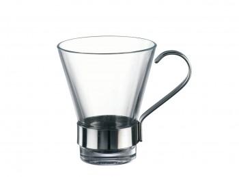 tazza caffè bicchierino vetro temperato ypsilon