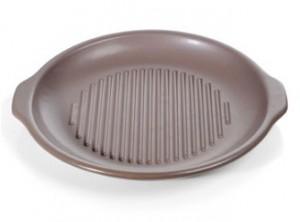 bistecchiera ceramica gres rotonda topgres