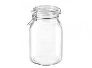 vaso barattolo vetro ermetico fido bormioli 2000