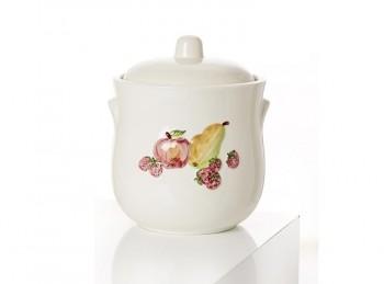 vaso barattolo orcio per rumtopf ceramica