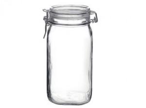 vaso barattolo vetro ermetico fido bormioli 1500