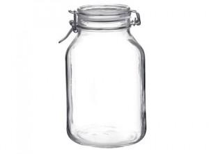 vaso barattolo vetro ermetico fido bormioli 3000