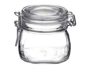 vaso barattolo vetro ermetico fido bormioli 500