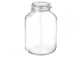 vaso barattolo vetro ermetico fido bormioli 5000