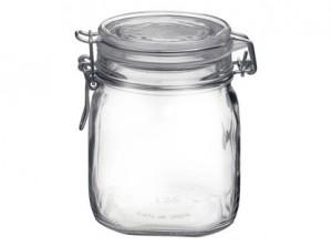 vaso barattolo vetro ermetico fido bormioli 750