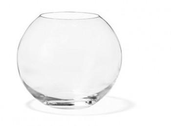 vaso fiori vetro centro tavola sfera