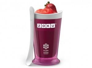 zoku bicchiere slush and shake gelato fatto in casa