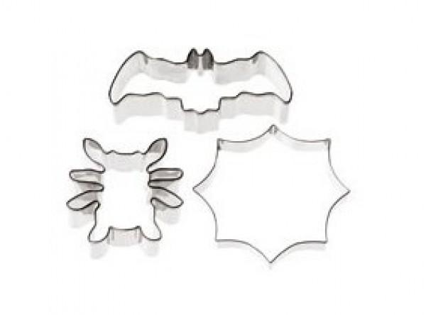 FORMINA Stampino a Forma di Pipistrello 8 cm